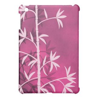 Pink bamboo pink iPad mini covers