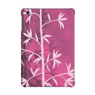 Pink bamboo pink iPad mini retina covers