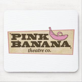 Pink Banana Mouse Pad