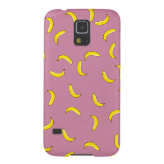 Pink Bananas Case For Galaxy S5