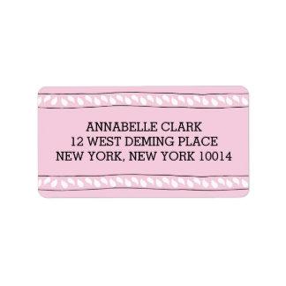 Pink Bandana | Return Address Label