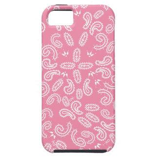 Pink bandana Western iphone case iPhone 5 Covers