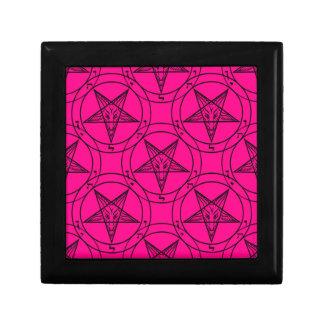 pink baphomet jewelry box