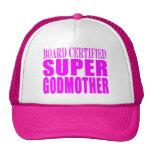 Pink Baptisms & Birthdays : Super Godmother Mesh Hat