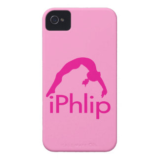 Pink Barely There iPhone Gymnastics iPhlip case