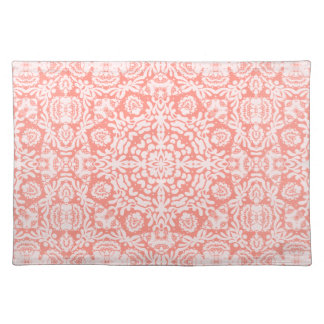 Pink Baroque Lace Placemat