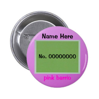 pink barrio pin
