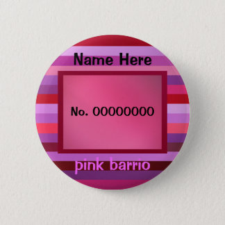 pink barrio text template button