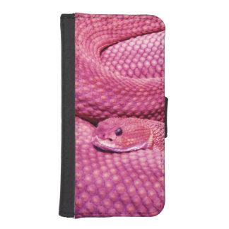Pink Basilisk Rattlesnake iPhone SE/5/5s Wallet