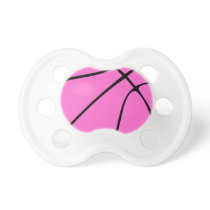 Pink Basketball Pacifier