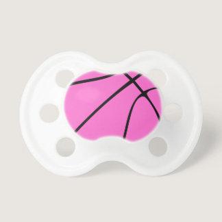 Pink Basketball Pacifier