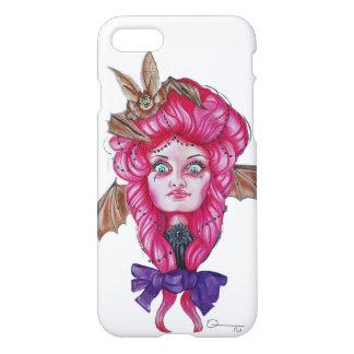 Pink bat Girl iPhone case