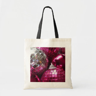 Pink Baubles tote bag