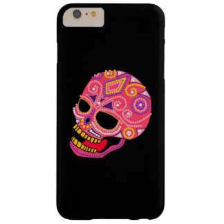 Pink Beaded Sugar Skull iPhone 6/6+ Case Barely There iPhone 6 Plus Case