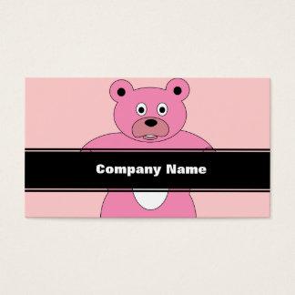 Pink Bear Business Card