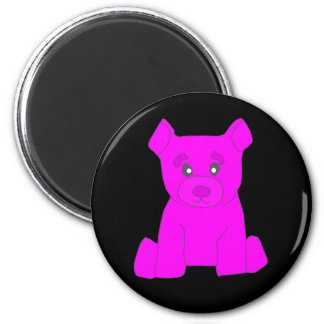 Pink Bear Magnet