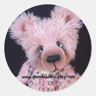 pink bear sticker