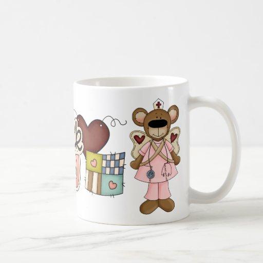 Pink Bear Thank You Mug