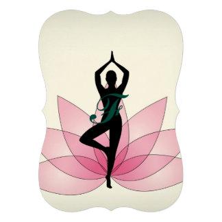 pink beautiful healer yoga yogi chakra energy chi card