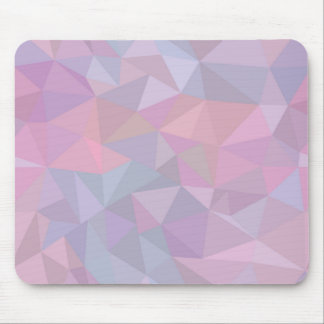 Pink beautiful triangle contemporary style pattern mouse pad