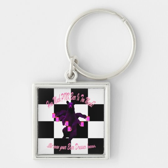 PINK Beer is too much! Keychain