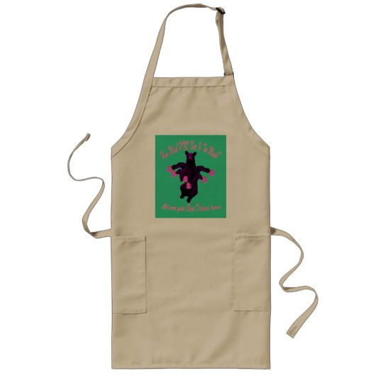 PINK Beer is too much! Long Apron