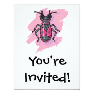 pink beetle card