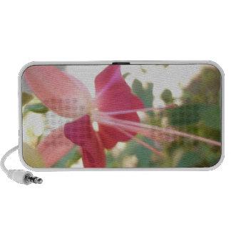 Pink Bell Flower Speaker