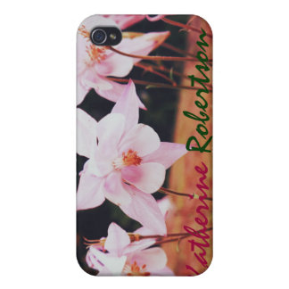 Pink Bell Flowers in the Garden iPhone 4 iPhone 4 Cover