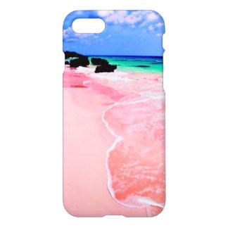 Pink Bermuda Beach iPhone 7 Case