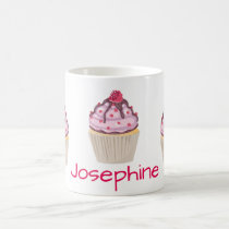 Pink Berry Cupcakes Coffee Mug