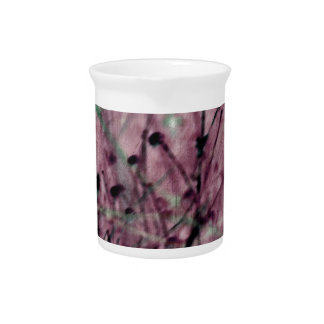Pink Berry Field Drink Pitcher