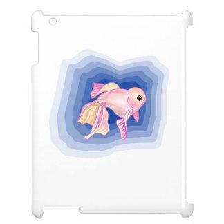 Pink Betta Fish iPad Cover