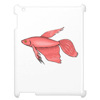 Pink Betta Fish Cover For The iPad