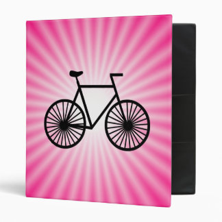 Pink Bicycle Binder