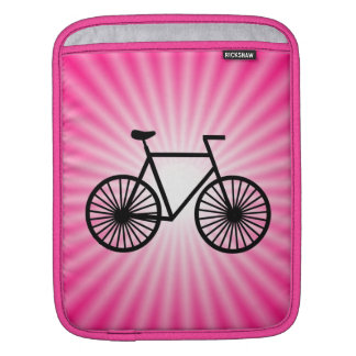 Pink Bicycle Sleeve For iPads