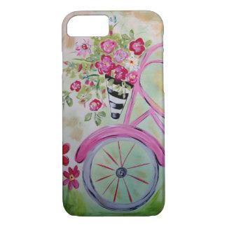 Pink Bicycle Phone Case