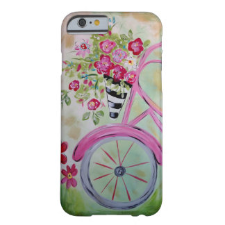 Pink Bicycle Phone Case