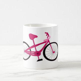 Pink Bicycle With Pink Ribbon Coffee Mug
