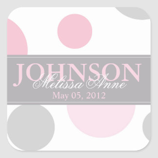 Pink Big Dots Sticker