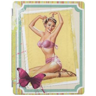Pink Bikini Pin Up Girl iPad Smart Cover