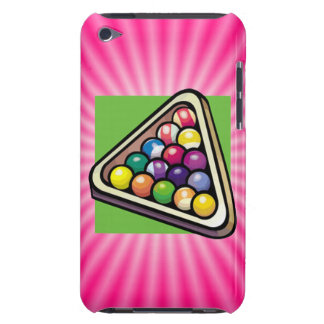 Pink Billiards Barely There iPod Case