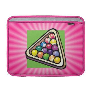 Pink Billiards Sleeves For MacBook Air