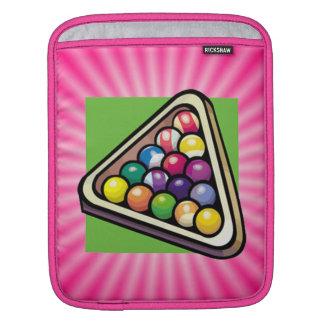 Pink Billiards iPad Sleeve