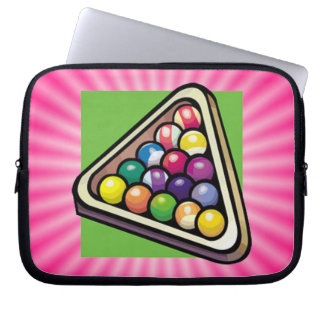 Pink Billiards Computer Sleeves