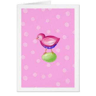 Pink Bird pink Card card
