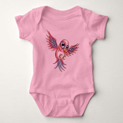 Pink Bird T Shirts