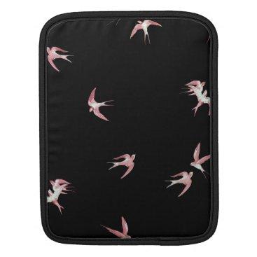 PINK BIRDS iPad SLEEVE