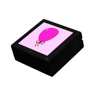 Pink Birthday Balloon Template Design Keepsake Box