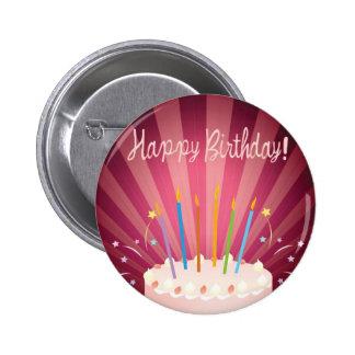 Pink Birthday Cake Pin